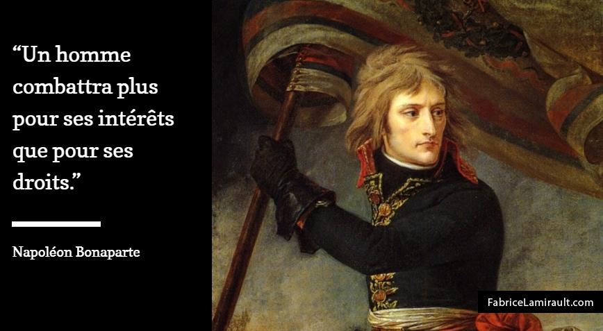 napoleon management combat droits