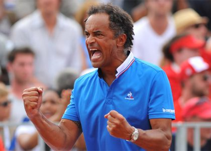 yannick noah capitaine equipe de france coupe davis tennis