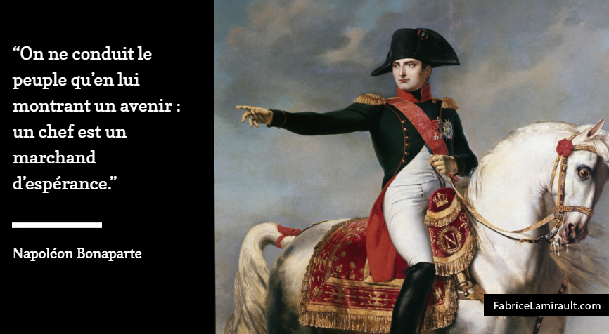 napoleon bonaparte management avenir esperance