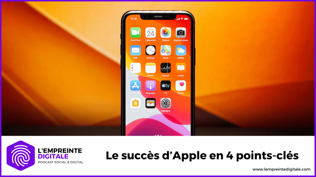 analyse decryptage strategie succes apple iphone