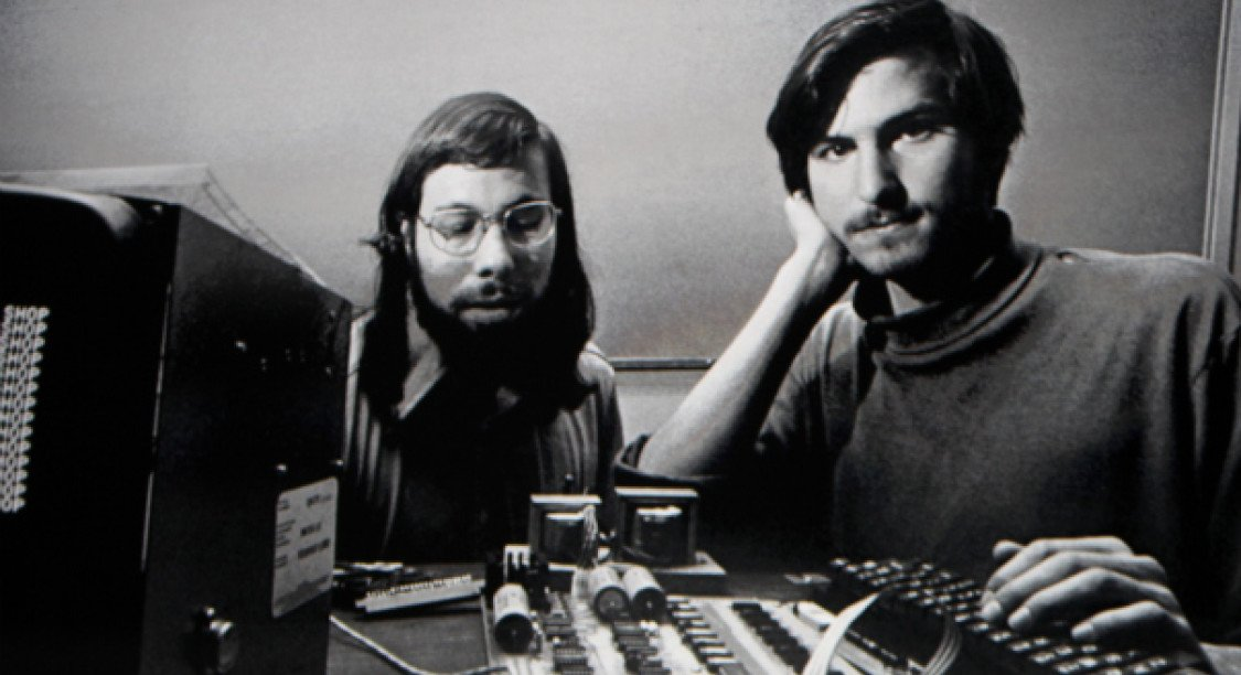 steve jobs wozniack apple vintage old