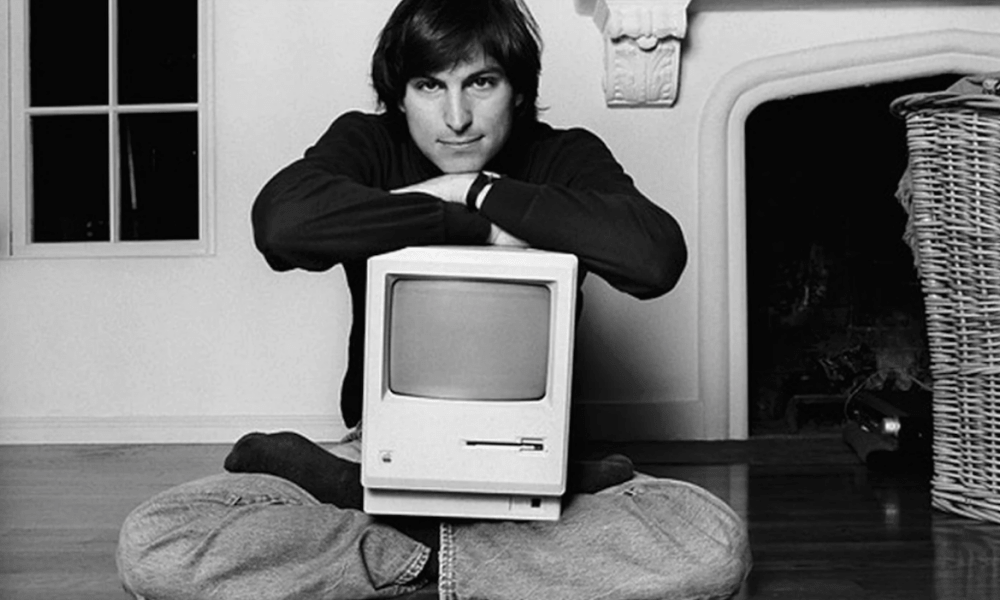 steve jobs macintosh apple 1980