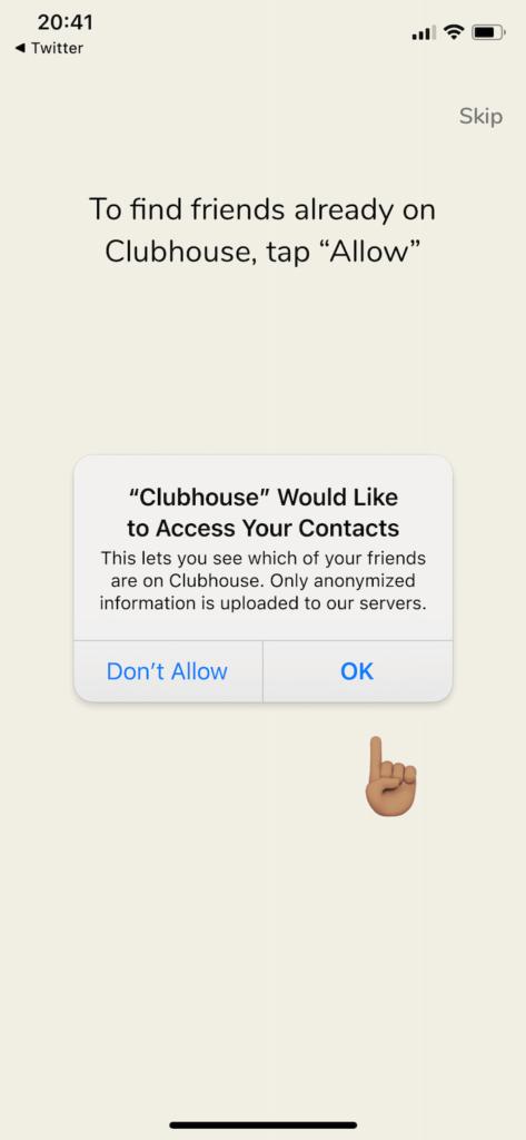 clubhouse comment inscrire avoir invitation
