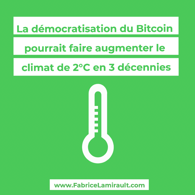 bitcoin ecologie electricite environnement